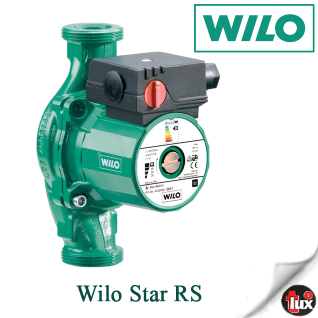 004033770 Насос цирк.Wilo Star RS 30/6